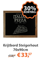 Krijtbord Steigerhout 70x90cm