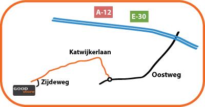 Goodstore Routebeschrijving